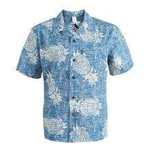 Hawaiian Shirt Short Sleeve Men Casual