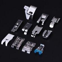 11Pcs/Set Mini Sewing Machine Presser Foot Set Multi-Function Tools