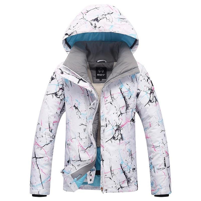 Women Ski Jacket Brand 2018 New Windproof Waterproof Warm Snow Coat Female Winter Skiing Snowboard Jacket Ski Women