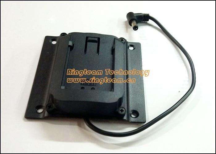 2Pcs/Lot Replace Panasonic Batteries CGA / CGR D54s D28s D16s Mount Adapter Charge Cradle Plate Holder for VESA LCD Monitors