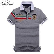 Neue ankunft camisa top shirt stickerei aeronautica militare polo shirt männer markenhemd kurzhülse hemd plus größe 2017 sommer