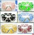 La joyería cristalina AA6X8MM Multicolor Crystal brazalete de la pulsera de moda hechos a mano joyas pulsera 7.5 pulgadas mayor nueva envío gratis