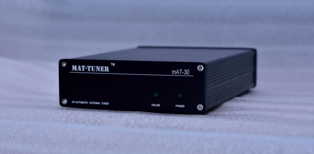 MAT-30 120 W HF automatique Auto-tuner TUNER automatique antenne tuner automatique pour Yeasu Ham Radio