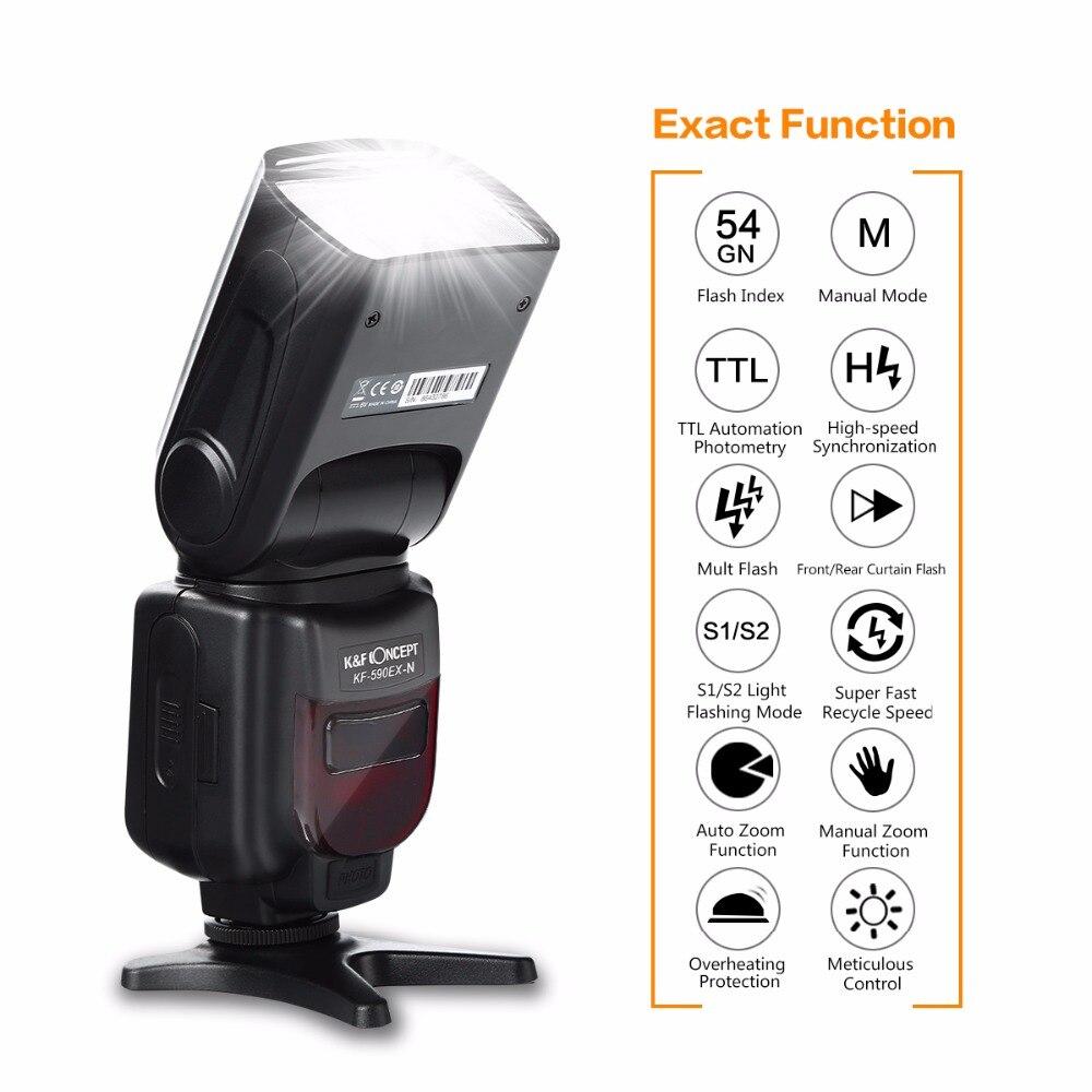 ФОТО KF590EX-N i-TTL High Speed light Flash Professional Speedlite for Nikon D7100 D7000 D5200 D5100 D5000 D3000 D3100 D300 DSLR