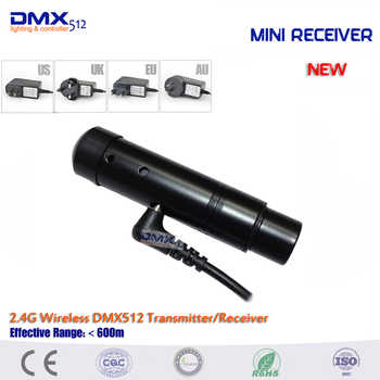 DHL Free shipping transmitter and receiver 2.4ghz wireless dmx512 stage light dmx controller