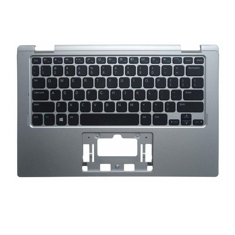 YALUZU nouvelle housse de protection pour Dell Inspiron 11 3000 série 3152 3153 boîtier supérieur clavier lunette couleur argent version US