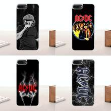 Para LG G2 G3 G4 G5 G6 G7 K4 K7 K8 K10 K12 ThinQ K40 Mini Mais Stylus 2016 2017 2018 Caso TPU Macio Mobile Music Band Acdc Ac Dc(China)