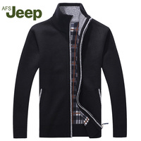 Afs JEEP New Arrival Autumn Men S Warm Sweaters Warm Winter Pullover Mens Sweaters Casual Knitwear