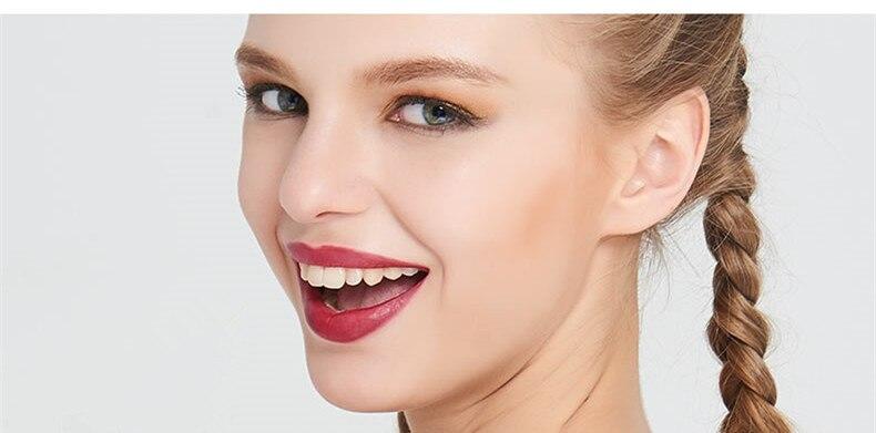 Beauty Matte Lipstick Long Lasting Cosmetics Maquiagem Women Makeup Red Batom Pigments Waterproof Lip Stick Pintalabios Mate 3