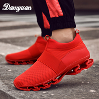 Damyuan 2019 New Fashion Classic Shoes Men Shoes Women Flyweather Comfortable Breathabl Non leather Casual Lightweight Shoes