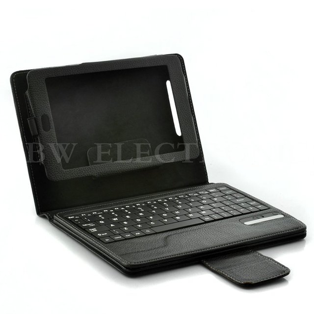 NEW & HOT Bluetooth Keyboard Leather Case for Google Nexus 7, 7inch Leather Case Best Gift, Free shipping