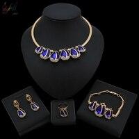 Wedding Jewellery Set Gold Bridal Costume Jewelry Gold Necklace Set Designs Jewelry