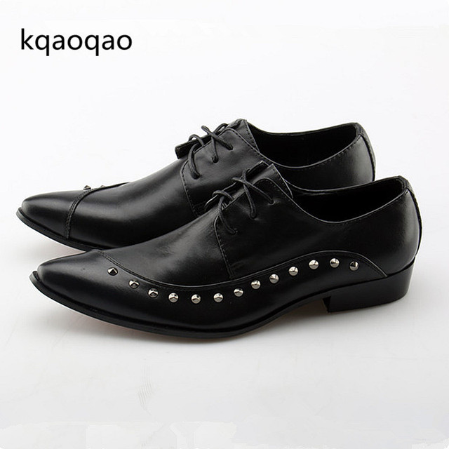 Oxford style dress shoes