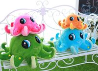 Super Cute 30cm Octopus Plush Toy Doll Pillow Devilfish Stuffed Animal Best Girl Friend Gift