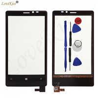 """4,5 """"N920 Touchscreen Digitizer Für Nokia Lumia 920 N920 Touchscreen Sensor LCD Display Glas TP Abdeckung Front Panel ersatz"""