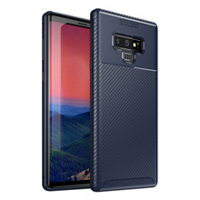 ALIVO For Note 9 Case Samsung Carbon Fiber Silicone Phone Bag Luxury Business Matte Cover Galaxy