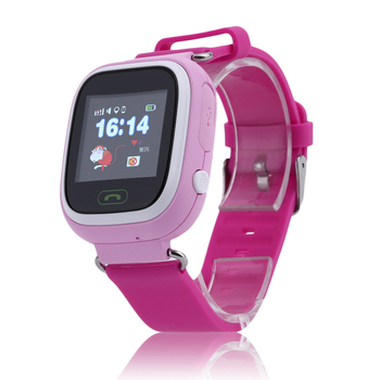 Q90 Children Student Touch Screen Smart Watches GPS Positioning Phone Call WiFi Anti Fall Off Waterproof Wristwatch Children Watches