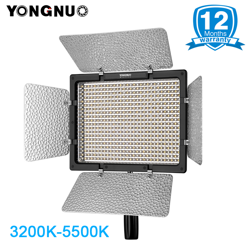 YONGNUO YN600L YN600 LED Video Light Panel 3200K to 5500K LED Photography lighting with Wireless Remote APP Remote Control