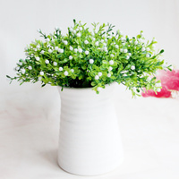 Simple modern home decorations small ornaments ceramic artificial flower set insert vase creative living room shelf display