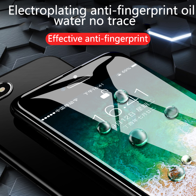 Anti-Fingeprint Ultra-Thin Phone Screen Protector
