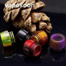 Original VapeSoon 10pcs/lot Newest 810 Resin Drip Tip For TFV8 TFV12 TFV8 BIG BABY X BABY Atomizer