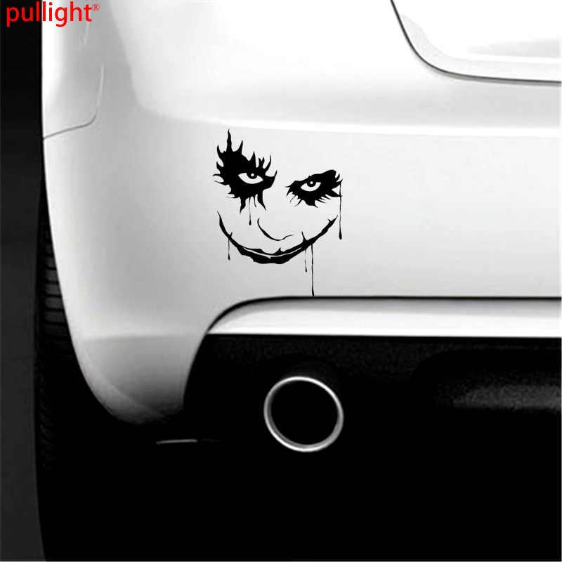 В стиле «Джокер» Виниловая пленка для оклеивания автомобилей, Стикеры настенные наклейки для японский автомобилей на стекло, на стену, на бампер элементы стайлинга для ноутбука и автомобиля автомобильные аксессуары мото Стикеры Бесплатная доставка