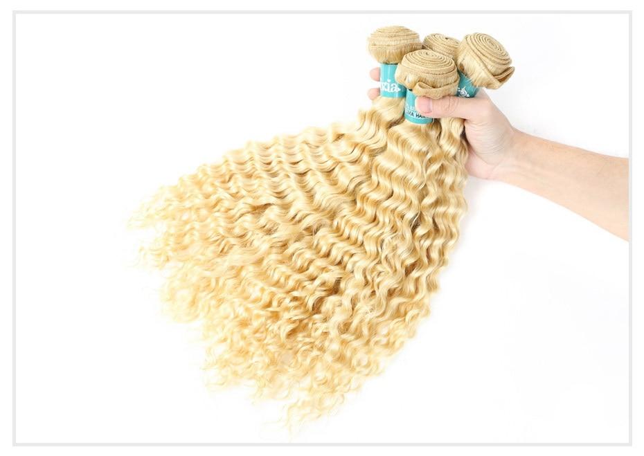 613 Blonde Curly Hair Bundles (14)