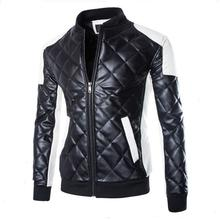 Mens Leather Jackets And Coats 2016 Men's Fashion Leisure Temperame Jackets Coat Men Men's Winter Leather & Suede Large Jacket