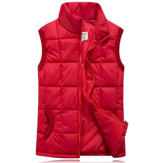 Winter woman Casual Vests Spring autumn Youth Trend Big Plus Size L-3XL 7 Colors Jacket Gilet Motorcycle Vest