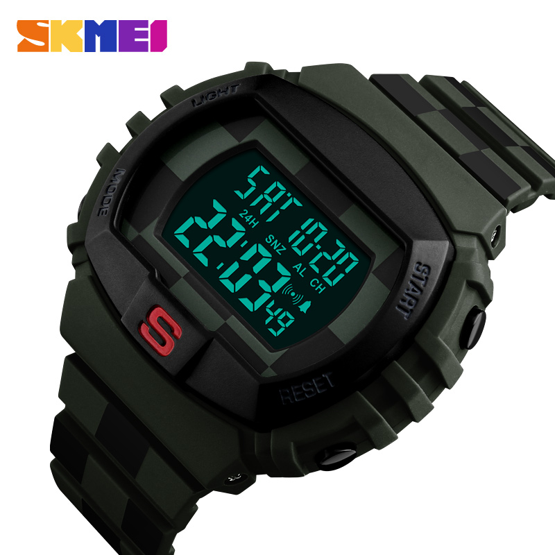 Top Seller Men Watch SKMEI Luxury Brand Watches 2018 Military Wristwatch Men Army Waterproof Sport for Male electronic watches 2018 new fashion original brand sport watch men watches skmei wristwatch gift 1 2 5 1 and 1 2 99 model only for vip gabriel
