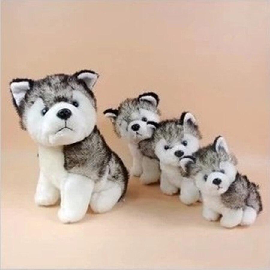 2015 Hot Stuffed Animals Plush Toys Husky Dog Toy Filler -3307