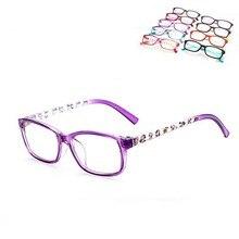 Moda Bonito Óculos de Armação 6-16 Anos de Idade da Criança Meninos Meninas  Óculos bbe123a180