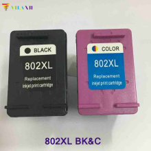 vilaxh 2pcs For HP 802 Ink Cartridge 802xl Deskjet 1000 1050 2050 1510 1010 2000 3050 J110a J210a J410a J510a J610a