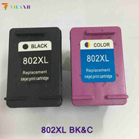 Vilaxh compatible 802xl Ink Cartridge replacement for hp 802xl Deskjet 1000 1050 2050 1510 1010 2000 3050 J110a J210a printer