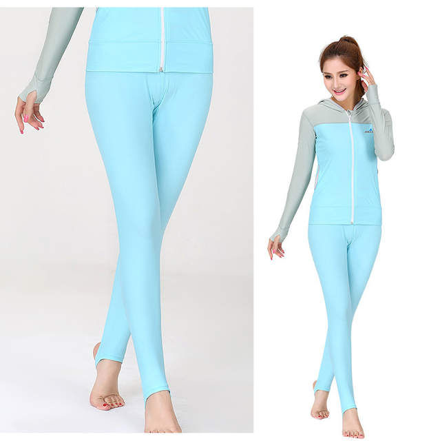 c3619a3587 Dive Sail Swimming Dive Sailing Sunscreen Trousers for women men Tight  Yoga