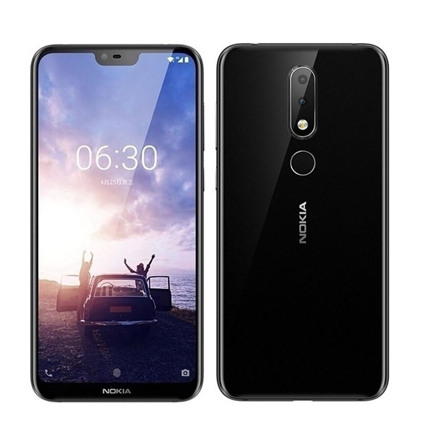 Фото. Новый оригинальный мобильный телефон Nokia X6 4G LTE 5,8 дюймов Snapdragon 636 Восьмиядерный 6 ГБ ОЗ