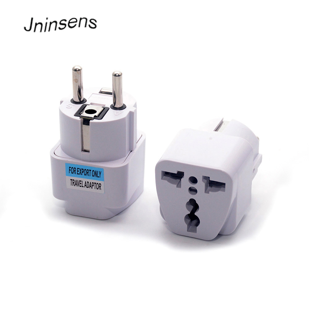 High Quality Universal EU South Korea Plug Adapter Converter US AU UK To European KR AC Travel Power Electrical Socket Outlets