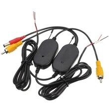 2.4 Г Беспроводной Видео Передатчик и Приемник для Автомобиля Камера Заднего Вида Монитор S16K