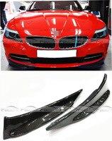 E89 Z4 сплиттер углеродного волокна Авто Передняя Губы фартук автомобиль Стайлинг для BMW E89 Z4 регулярные 2009 2013 тюнинг автомобилей Автомобильны