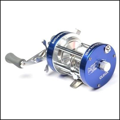ФОТО Ming Yang CL60A all-metal dual brake drum Leiqiang vessels fishing reel round wheel fishing lure supplies