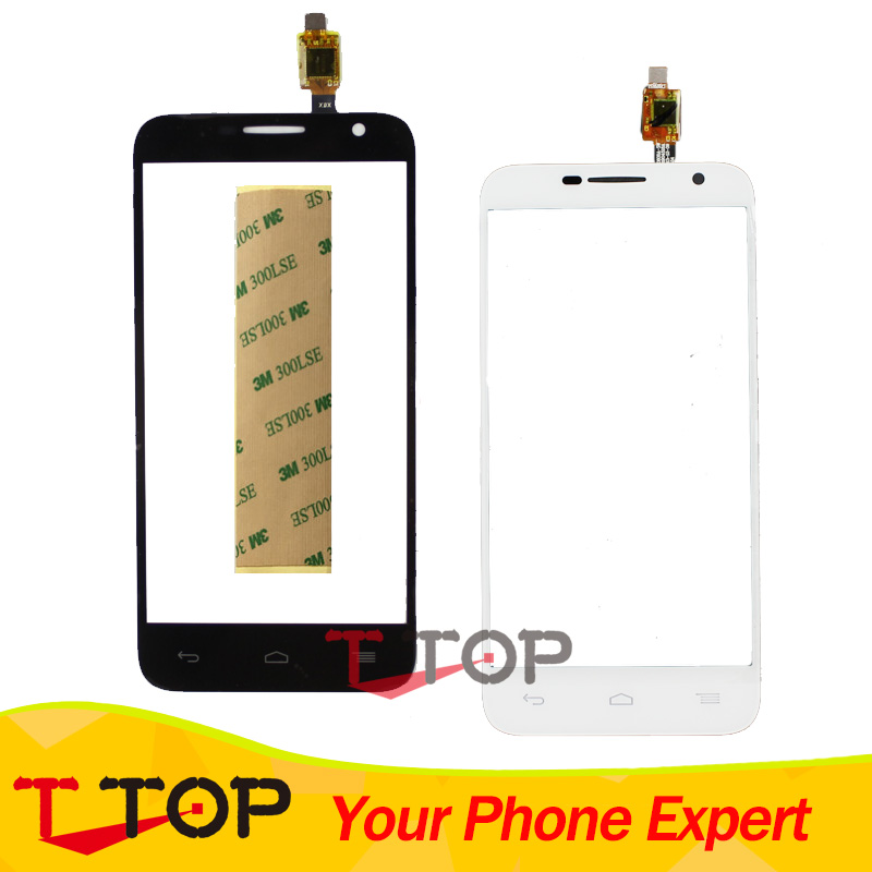 Écran tactile Pour Alcatel One Touch Idol 2 mini 6016 6016D 6016A 6016E 6016X OT6016 Écran Tactile Panneau de Verre Digitizer + Bande 1 PC