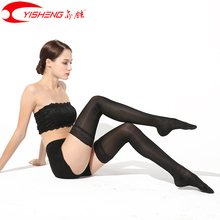 YISHENG Medical Compression Stockings Varicose Veins Women Stocking Lace Band for Summer 15 20mmHg