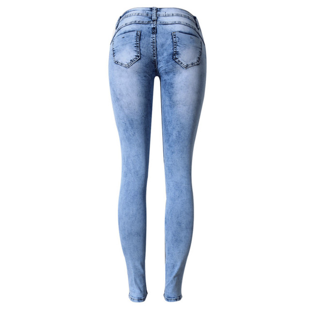 fashion jeans pants for women - Size 34 to 44 2