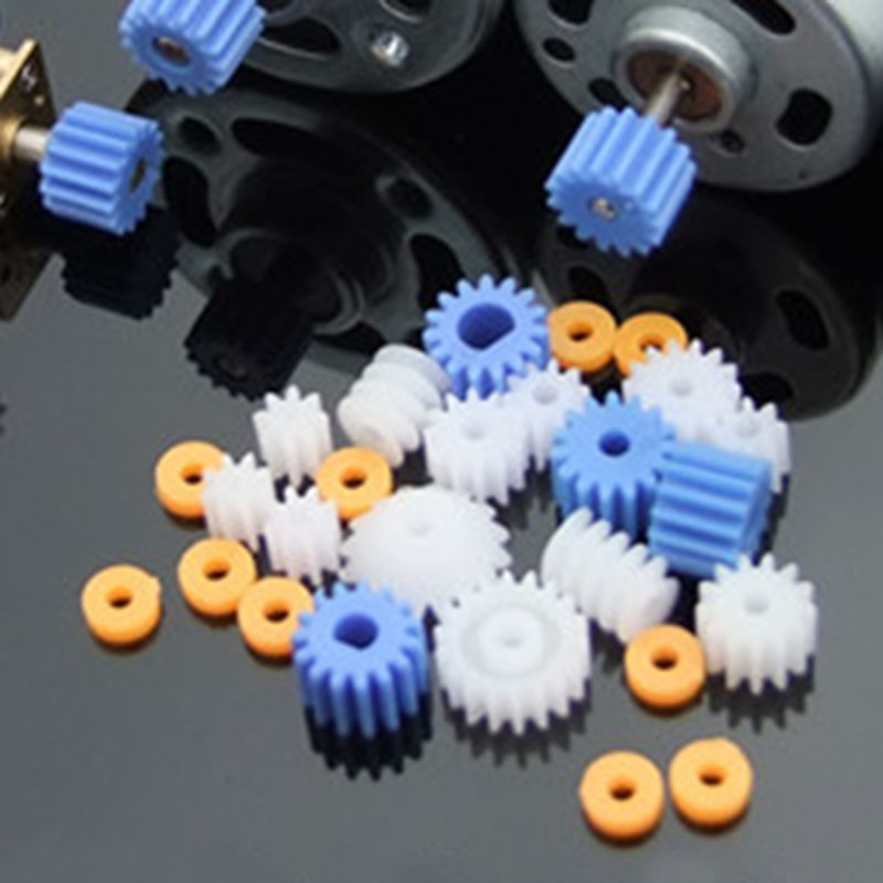 Plastic Bearing Gear Set DIY Worm Gear Axle Gear Pack Spindle gear bag boutique 2MM 2