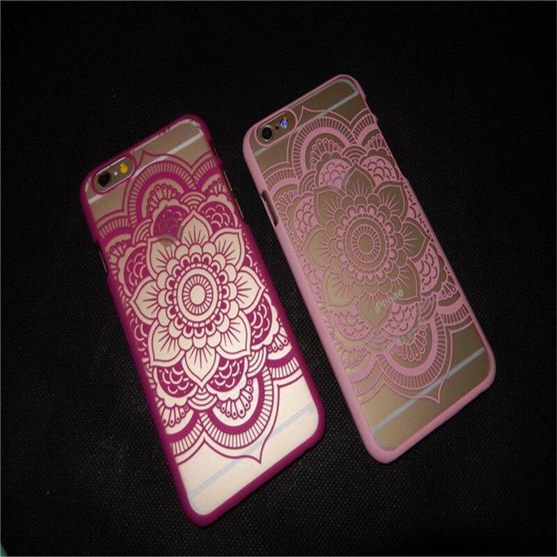 YENI Klasik Dantel Mandala Çiçek Telefon Kılıfları Apple iphone - Cep Telefonu Yedek Parça ve Aksesuarları - Fotoğraf 5