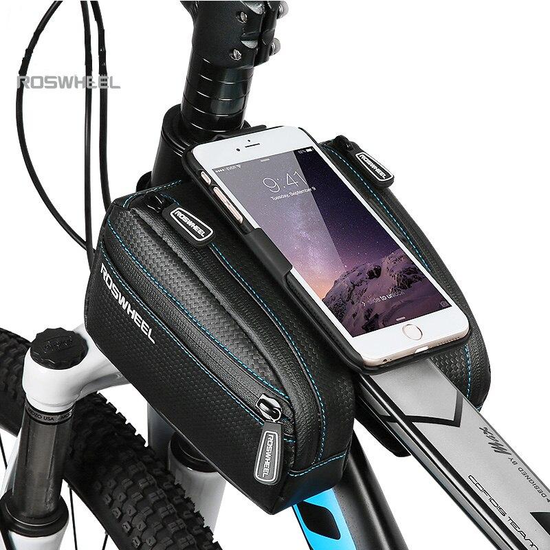 ROSWHEEL 2019 Անջրանցիկ հեծանիվ պայուսակ Mtb - Հեծանվավազք - Լուսանկար 2