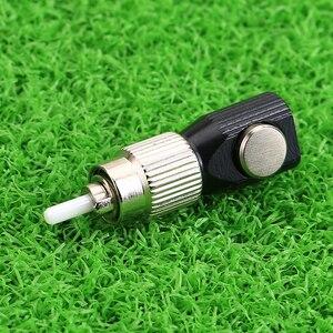 Image 4 - KELUSHI nouveau chaud 1 pièces FC adaptateur FC carré fibre optique coupleur tour rond carré bride FC circulaire fibre nue adaptateur