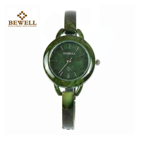 BEWELL Women S Watch Bracelet Watch Unique Design Gem Woman Watches Gifts Limited Edition Fashion Lightweight