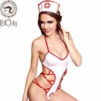 Leechee Q878 Dames sexy lingerie Uniforme tentation Profonde-V cosplay costumes porno érotique chaude underwer lenceria sexo arc