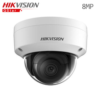 Hikvision 8MP Engels IP Camera DS-2CD2185FWD-IS Dome CCTV Camera IP67 Audio Upgradable POE Bewakingscamera sd-kaartsleuf 128G